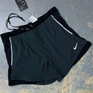 Nike Flex Swift Running Shorts CJ9708-010 2 in 1 L